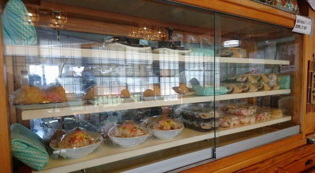 香川のうどん屋さんなどによくあるごはん物はお寿司