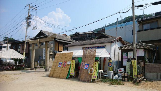 男木島の飲食店といえば村上商店