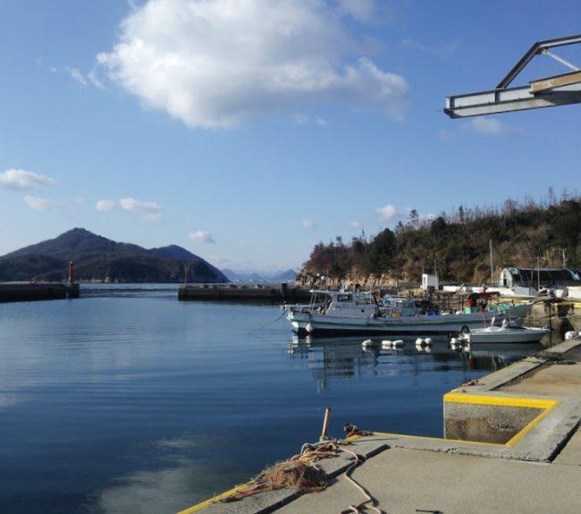 漁港にはアーティストがペイントした漁船もありますよ